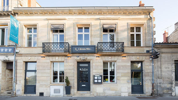 Restaurant L\'Oiseau Bleu - Frédéric Lafon Bordeaux
